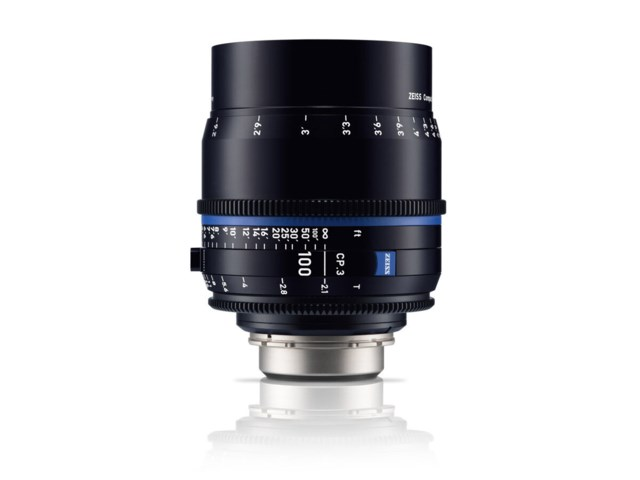 Zeiss Compact Prime CP.3 100mm T2.1 PL-mount