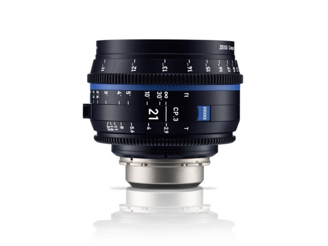 Zeiss Compact Prime CP.3 21mm T2.9 Sony E-mount