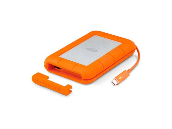LaCie Rugged Thunderbolt SSD 1TB USB-C 3.1