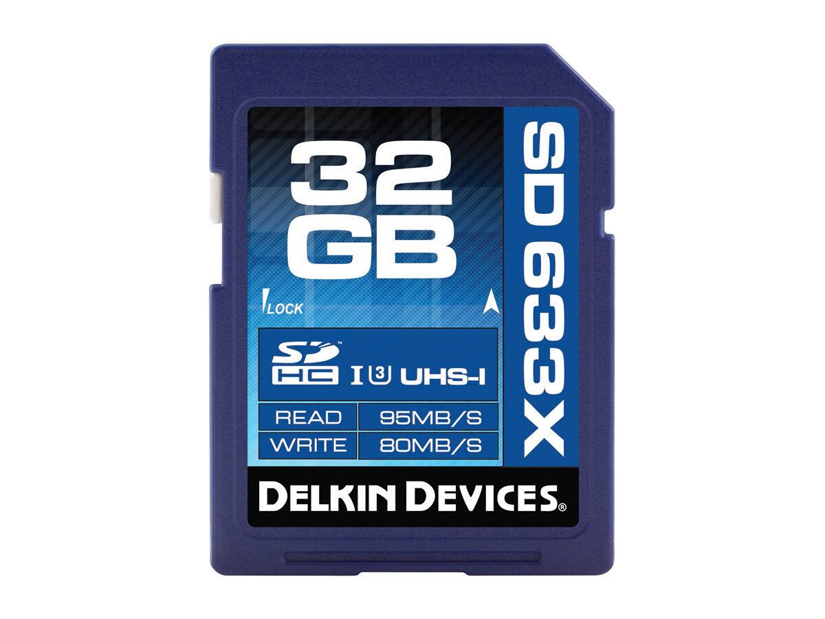 Delkin Devices Minneskort Secure Digital 32GB SDHC 95MB/s