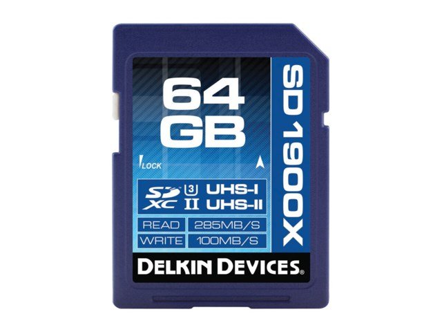 Delkin Devices Hukommelseskort Secure Digital 64GB SDXC 285MB/s