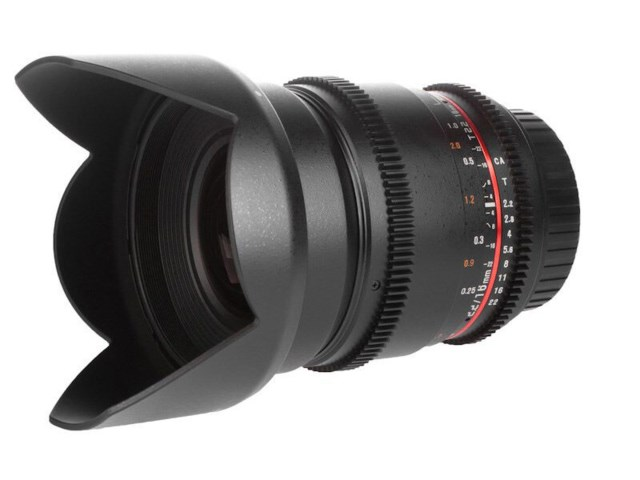 Samyang 16mm T2.2 ED AS UMC CS VDSLR II til Micro 4/3
