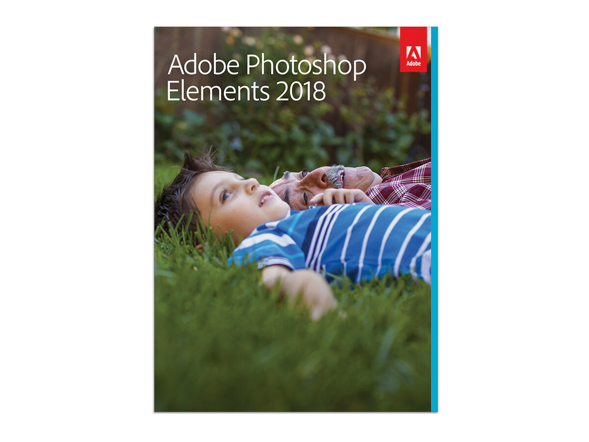 Adobe Photoshop Elements 2018 Engelska för Windows/Mac