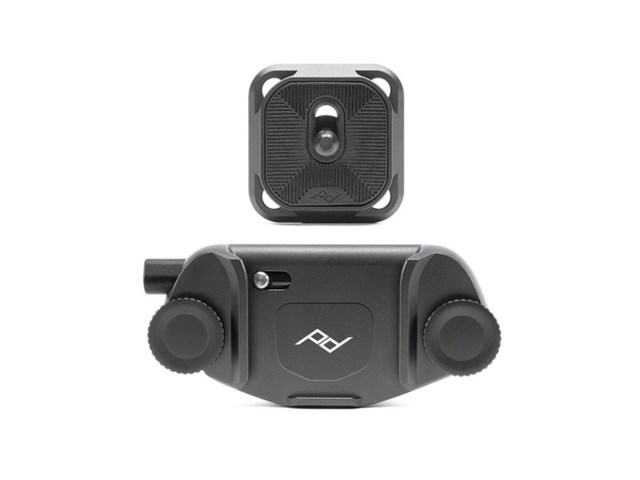 Peak Design Capture Camera Clip v3 sort med plate