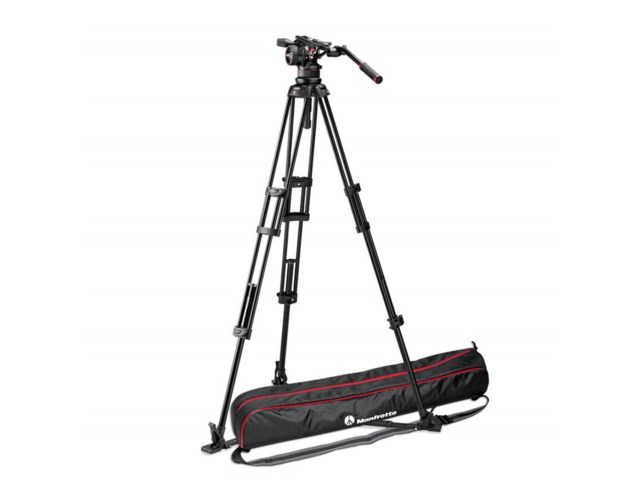 Manfrotto Videostativkit 545GB + Nitrotech N12 Videohoved