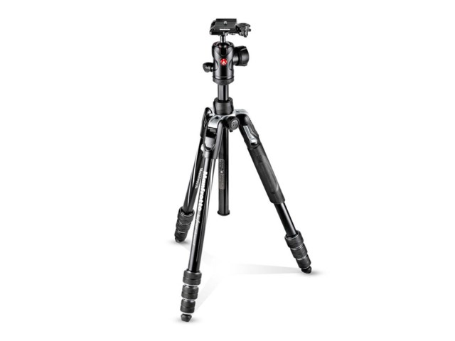 Manfrotto Stativkit Befree Advanced Twist svart alumnium