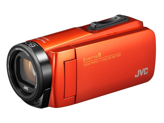 JVC Everio GZ-R495DEU orange