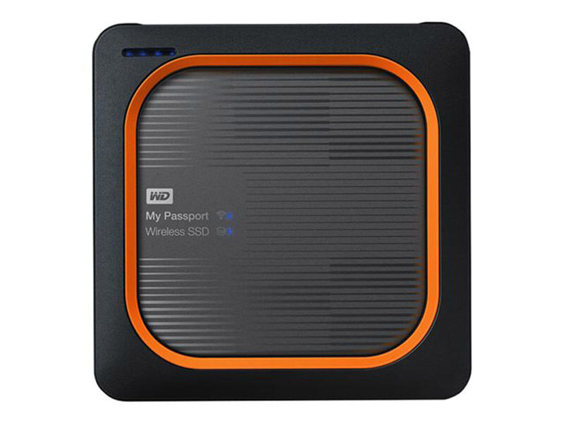 Western Digital My Passport Wireless SSD 500GB WiFi USB 3.0