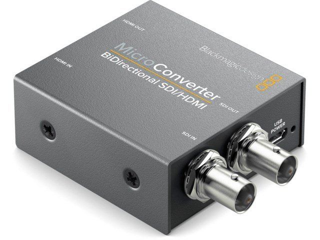 Blackmagic Design Micro Converter BiDirect SDI/HDMI med nätdel