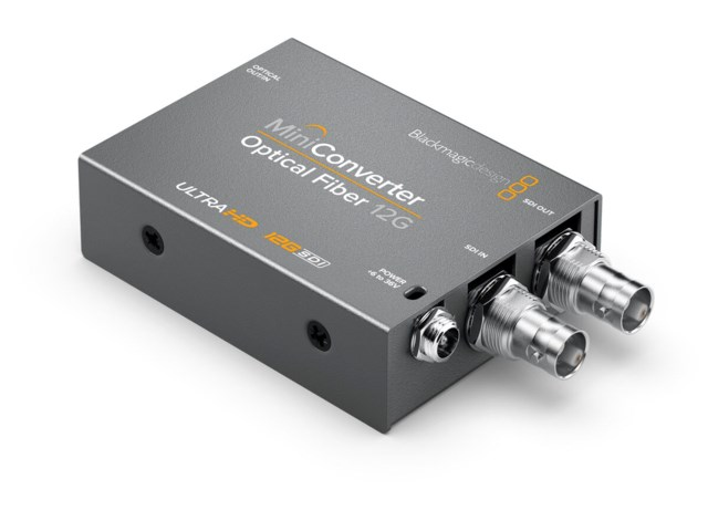 Blackmagic Design Mini Converter - Optical Fiber 12G