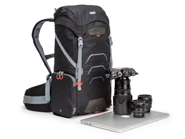 MindShift Gear Kameraryggsäck Ultralight Dual 25L - Black Magma