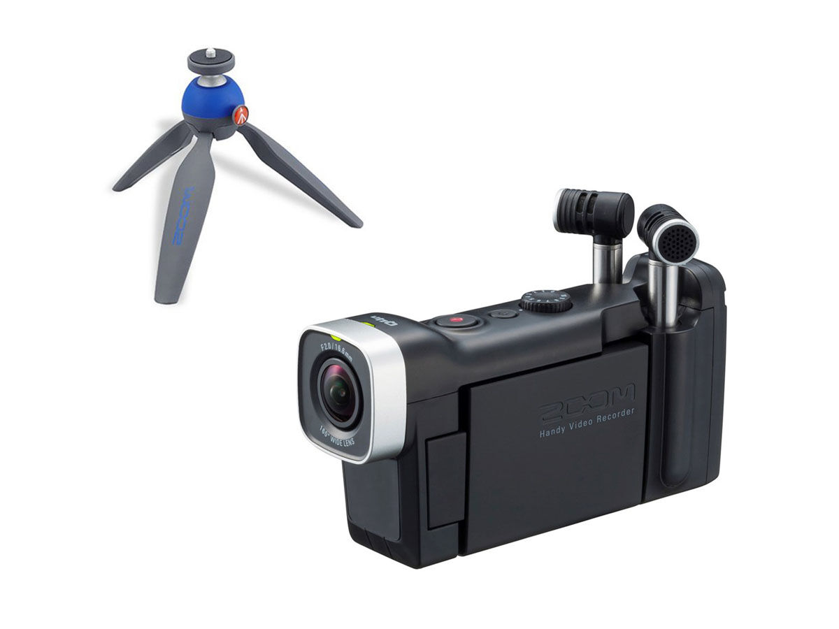 Zoom Q4n Handy Video Recorder + bordsstativ Pixi