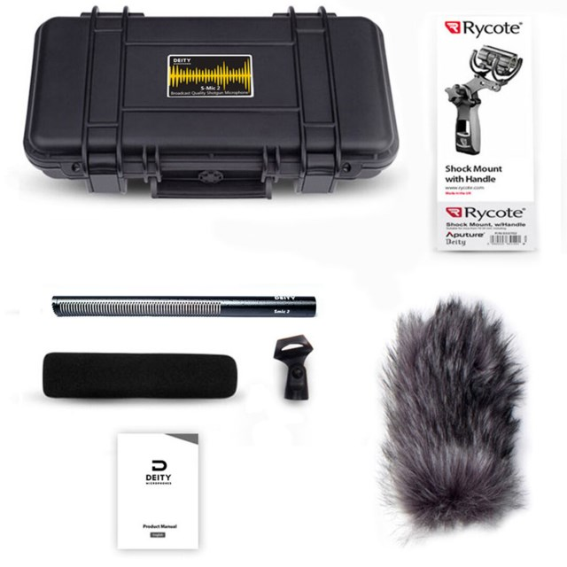 Deity Deity Broadcast Microphone S-Mic 2 Location Kit