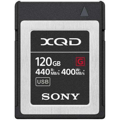 Sony Hukommelseskort XQD G Series High Speed 120GB