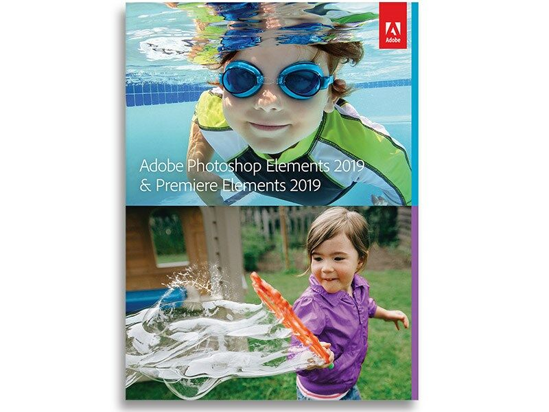 Adobe Photoshop + Premiere Elements 2019 Engelsk Licens
