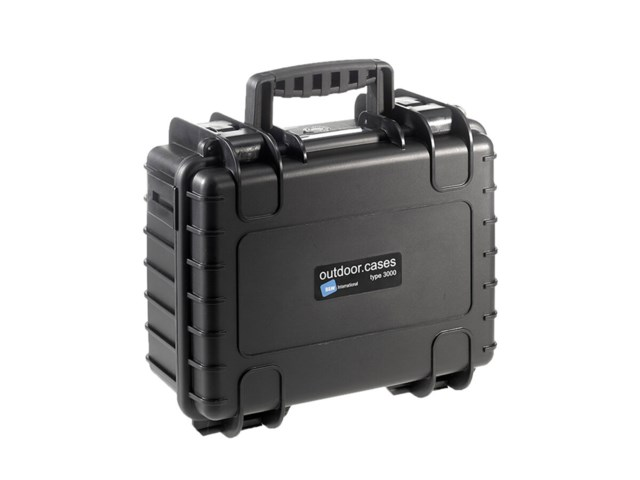 B+W Outdoor Case Type 3000 svart till DJI Mavic 2 Pro/