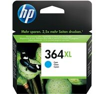 Hp 364XL Cyan - 750sid - Deskjet 3070, 3520 Photosmart 5510, 5520, 6510, 6520, 6525, 7520