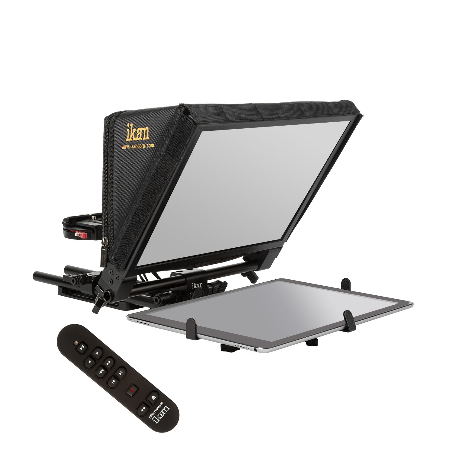 Ikan PT-ELITE-PRO-RC Elite Universal large tablet, and iPad Pro teleprompter w/elite remote