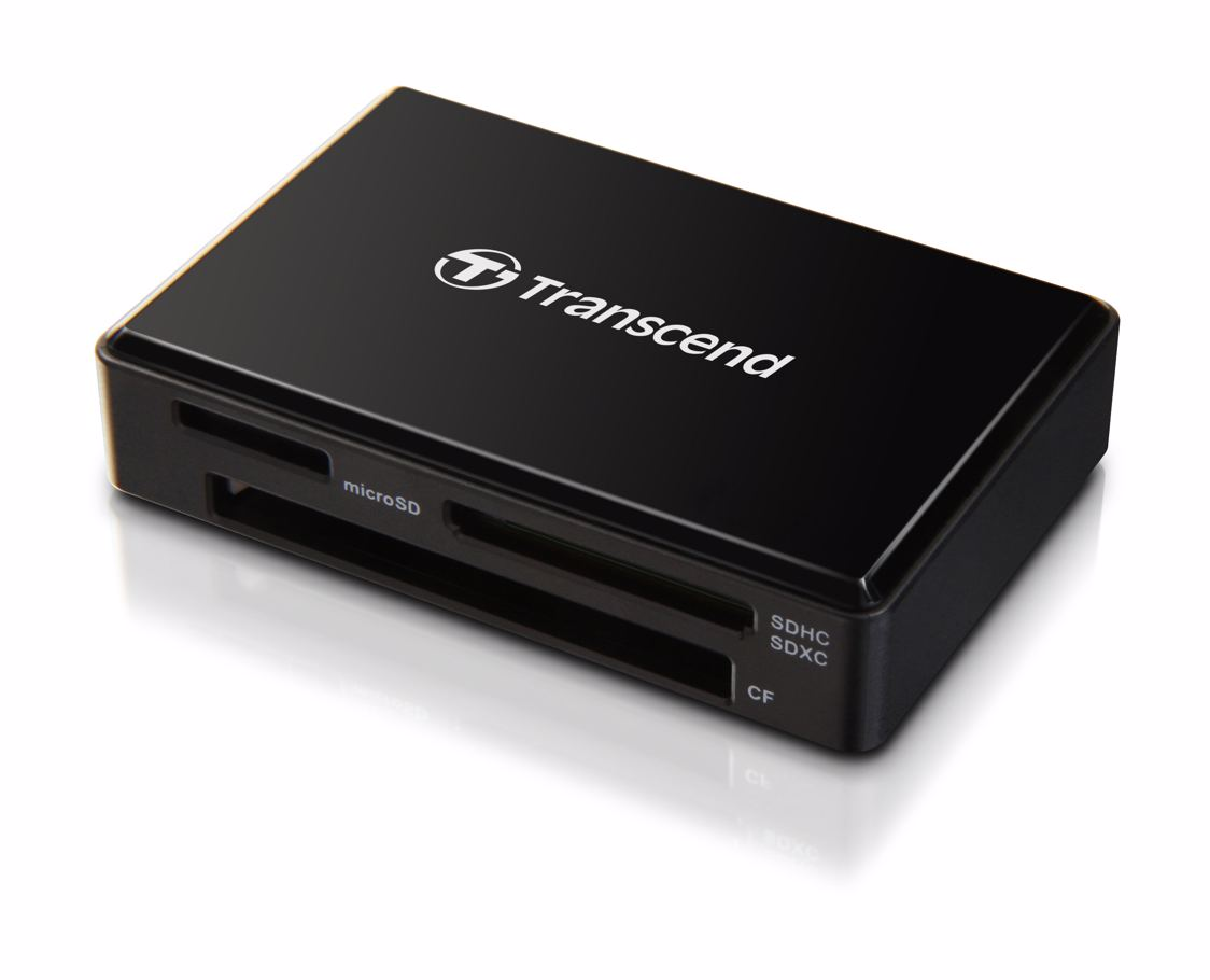 Transcend Minneskortläsare TS-RDF8K All-In-1 USB 3.0/3.1