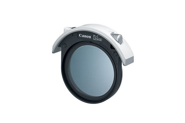 Canon Filter polarisation 52mm drop-in PL-C 52 WIII