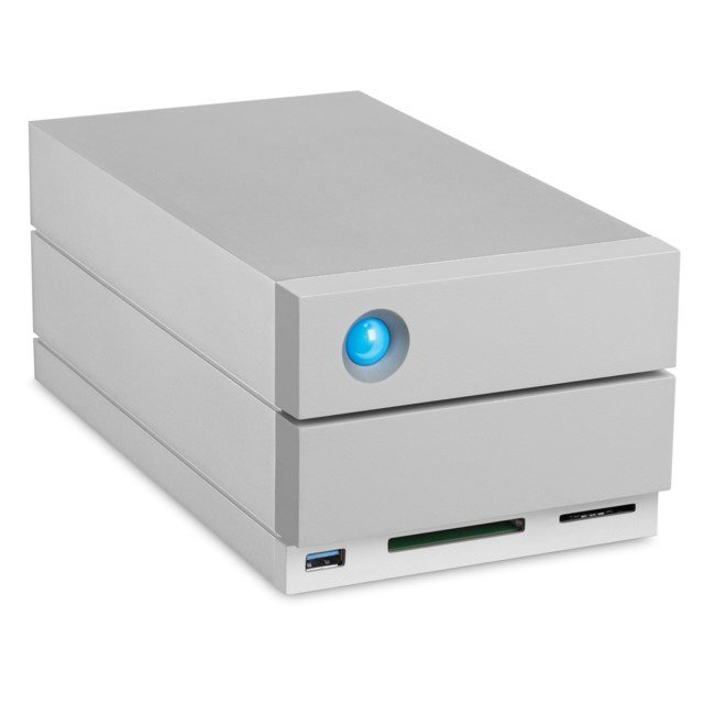 LaCie 2big Dock 28TB USB 3.1, Thunderbolt 3