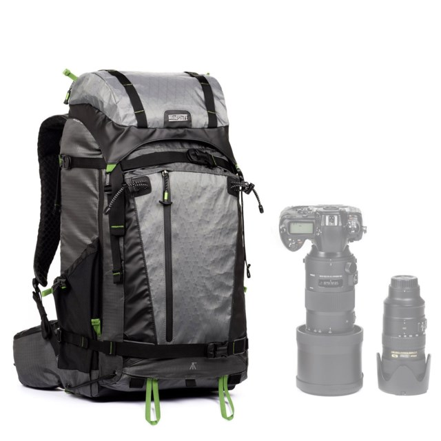 MindShift Gear Kameraryggsäck Backlight Elite 45L Storm Grey