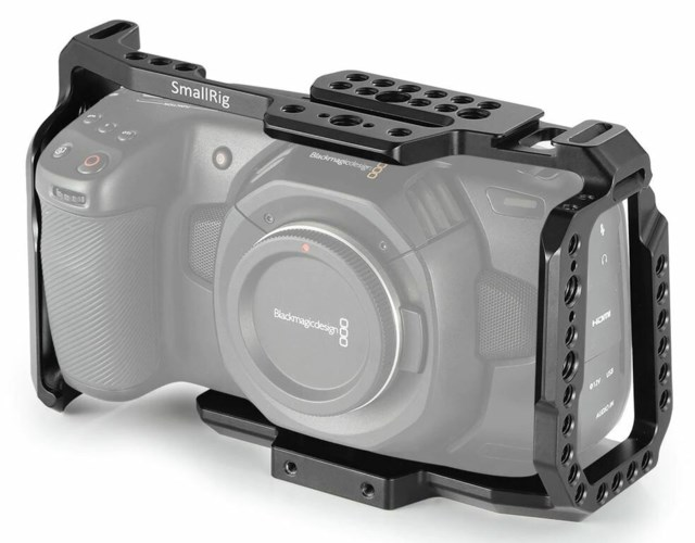 SmallRig Cage for Blackmagic Design Pocket Cinema Camera 4K