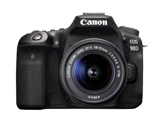 Canon EOS 90D EF-S 18-55/3,5-5,6 IS STM