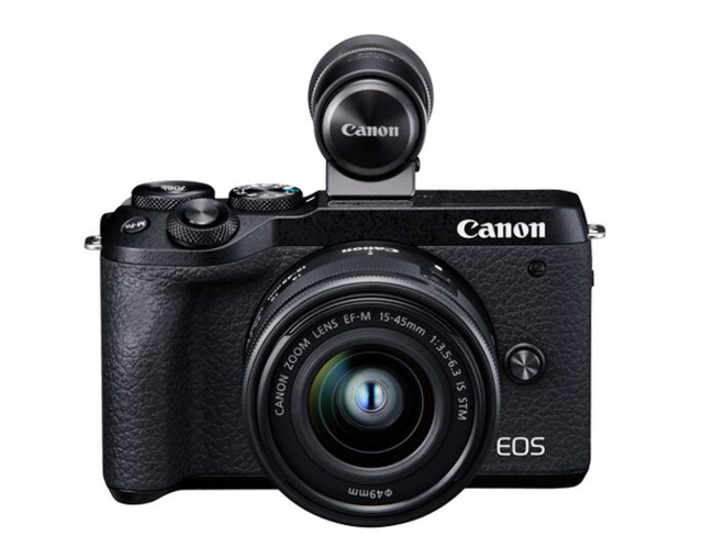Canon EOS M6 MKII + EF-M 15-45/3,5-6,3 IS STM + EVF DC2