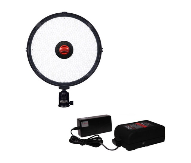Rotolight LED-Belysning AEOS Kit V-lock Batteri & Laddare