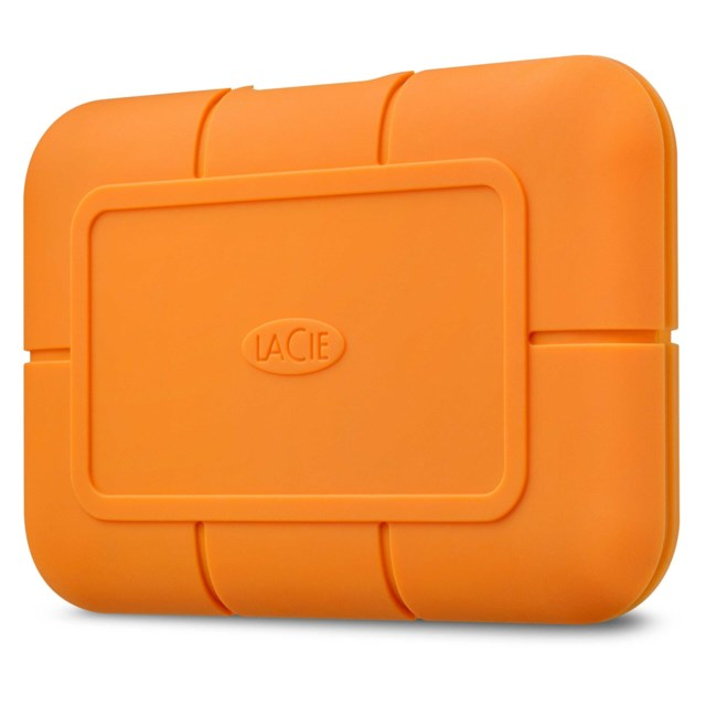 LaCie Rugged 500GB USB-C SSD