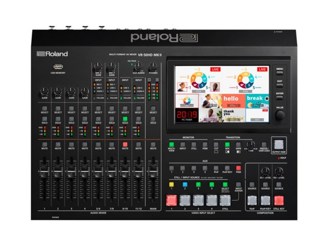 Roland Streaming Switch VR-50HD MK II