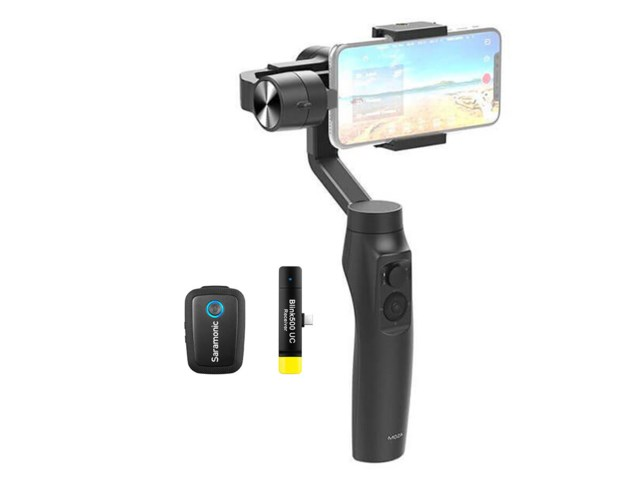 Moza Streamingkit Mini-Mi Gimbal + Saramonic Blink 500 B5 USB-C