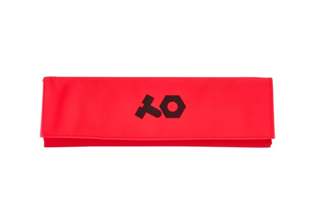 Teenage Engineering PVC roll up red bag
