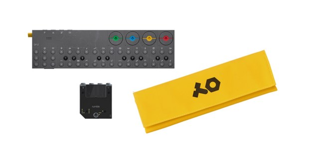 Teenage Engineering OP-Z inkl. rumble modul & fodral gul