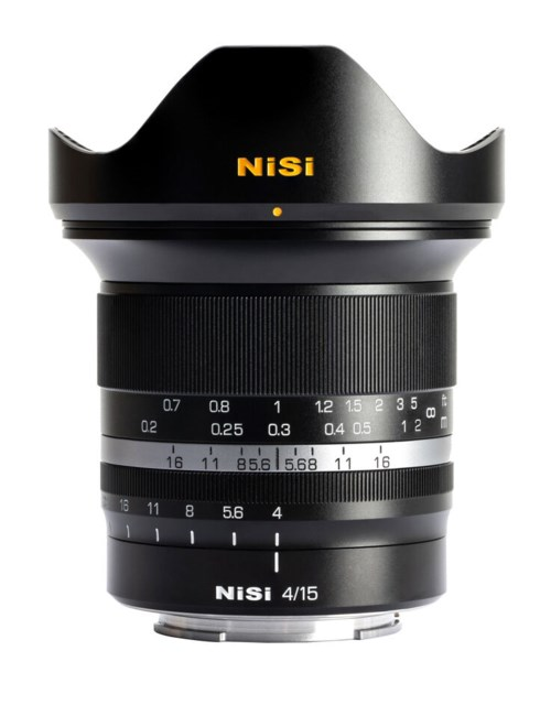 NiSi 15mm F4 Nikon Z-mount