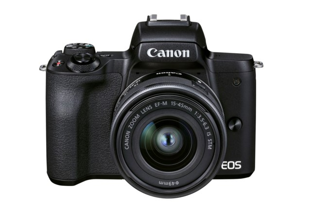 Canon EOS M50 Mark II svart + EF-M 15-45mm f/3,5-6,3 IS STM