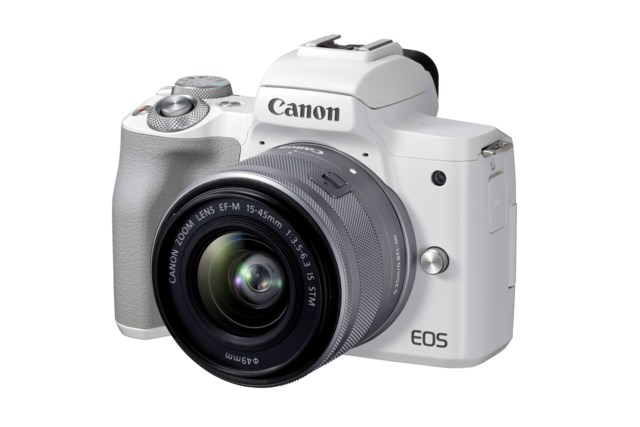 Canon EOS M50 Mark II vit + EF-M 15-45mm f/3,5-6,3 IS STM