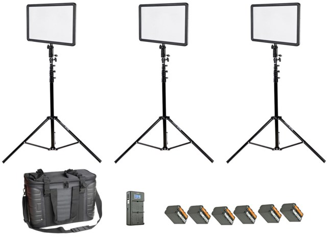 Godox LEDP260C LED Location 3Kit