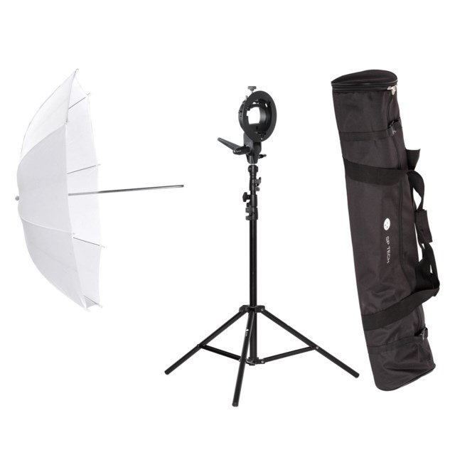 Scandinavian Photo Umbrella kit for speedlight