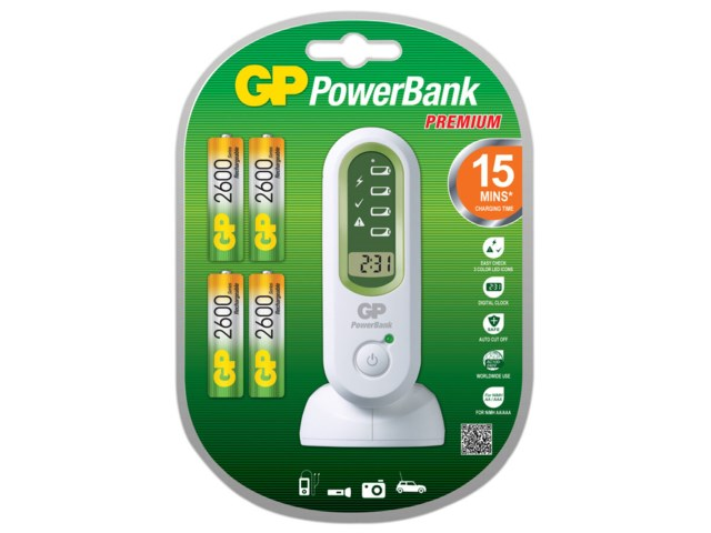 GP Batteriladdare PowerBank V800C