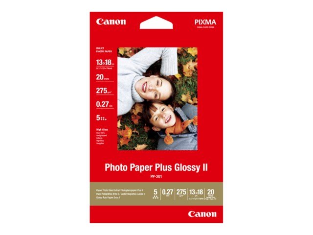Canon PP-201 Glossy II 13x18cm 275gr 20blad