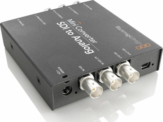 Blackmagic Design mini konverter - SDI till Analog