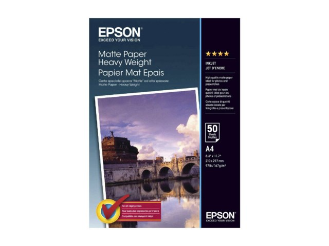 Epson Double Sided Matte A4 178gr 50blad
