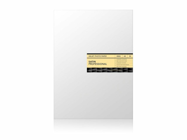Scandinavian Photo Fotopapir A2 Satin Professional 300 gram 50 ark