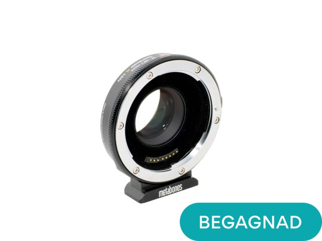 Metabones Canon EF till Micro 4/3 T Speed Booster XL 0,64X (uppackad)