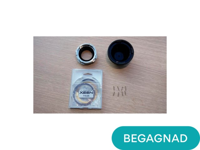 Samyang Exchangeable Mount kit till Canon  (uppackad)